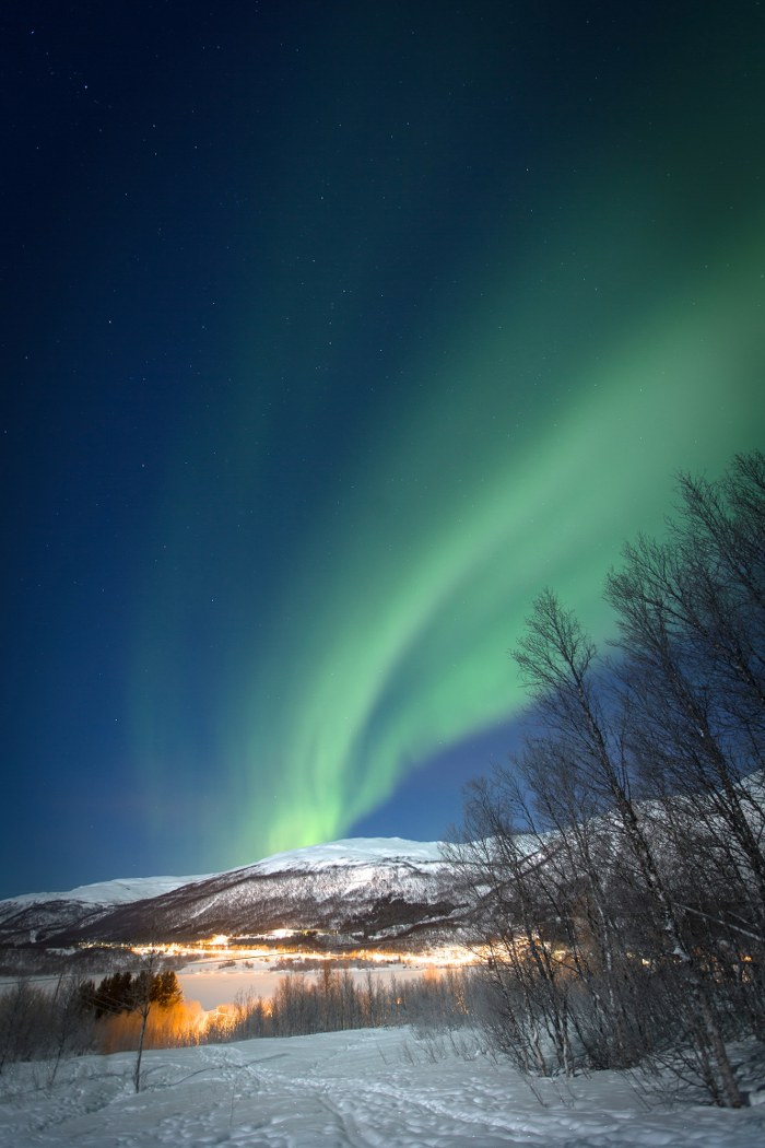 The Northern Lights in Tromso